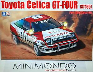【送料無料】模型車 モデルカー スポーツカー キットトヨタセリカサファリラリーkit toyota celica st165 1990 safari rally winner 124 aoshima 24006 87885 beemax