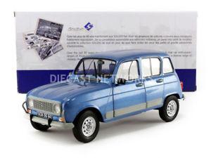 【送料無料】模型車 モデルカー スポーツカー ルノーsolido 118 renault 4 l gtl clan 1986 1800107
