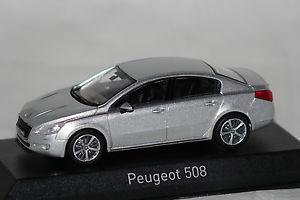 【送料無料】模型車 モデルカー スポーツカー プジョーpeugeot 508 2010 silber 143 norev neu amp; ovp 475806