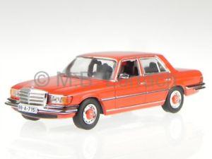 【送料無料】模型車 モデルカー スポーツカー クラスメルセデスオレンジモデルカークラシックネットワークmercedes w116 sklasse 450 sel 1975 orange modellauto clc191 ixo 143