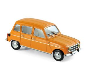 【送料無料】模型車 モデルカー スポーツカー ルノーオレンジrenault 4 1974 orange 143 norev 510039 neu ovp