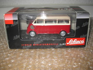 【送料無料】模型車 モデルカー スポーツカー バスクイックバイスschuco 143 dkw schnelllaster bus nr02481 q961