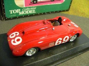 【送料無料】模型車 モデルカー スポーツカー トップモデルフェラーリリバーサイド#トヨタ143 top model ferrari 375 parravano 1960 riverside 69 tmc078