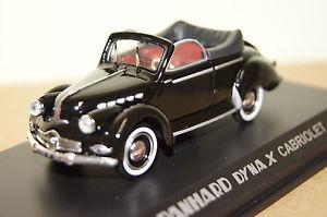 【送料無料】模型車 モデルカー スポーツカー ダイナブラックソフトトップpanhard dyna x cabrio mit softtop schwarz 143 norev neu ovp 451801