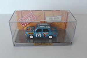 【送料無料】模型車 モデルカー スポーツカー ラリーコレクションボックスオン143 norev simca rallye 2 le montdore 77 haribo mit box aus sammlungsauflsung