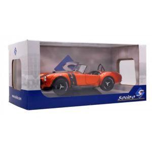 【送料無料】模型車 モデルカー スポーツカー コブラオレンジメタリックブラック