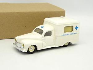 【送料無料】模型車 モデルカー スポーツカー リーダープジョーleader rsine sb 143 peugeot 203 fourgon c8 ambulance