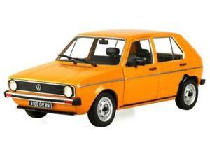 【送料無料】模型車 モデルカー スポーツカー ゴルフオレンジsolido vw golf i cl 1983 orange 118