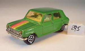 【送料無料】模型車 モデルカー スポーツカー メタリックグリーン#majorette 160 nr 234 simca 1100 grnmetallic nr 2 295