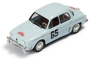 【送料無料】模型車 モデルカー スポーツカー ルノー#モンテカルロネットワークrenault dauphine 65 monraisseferet monte carlo 1958 ixo 143 rac103