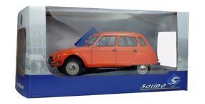 【送料無料】模型車 モデルカー スポーツカー シトロエンオレンジsolido 421184020 118 citroen dyane 6 1974 orange neu