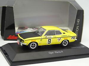 【送料無料】模型車 モデルカー スポーツカー オペルマンタモンテカルロラリーschuco 143 opel manta a conrero rallye monte carlo 1972
