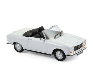 【送料無料】模型車 モデルカー スポーツカー プジョーホワイトpeugeot 304 s cabrio 1973 wei 143 norev 473410 neu amp; ovp