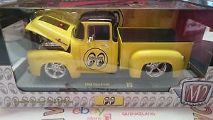 【送料無料】模型車 モデルカー スポーツカー マシンムーンフォードm2 machines mooneyes 1956 ford f100 124 5880exp n6