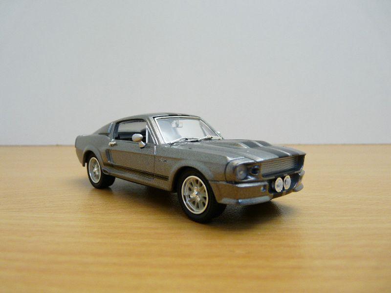 【送料無料】模型車 モデルカー スポーツカー フォードマスタングシェルビーフィルムイメージングクロノセコford mustang shelby gt500 eleanor 143 film 60 secondes chrono