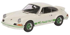 【送料無料】模型車 モデルカー スポーツカー ポルシェカレラホワイトグリーンschuco 03616 143 porsche 911 carrera rs 27 weissgrn neu