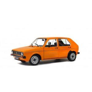 【送料無料】模型車 モデルカー スポーツカー ソロフォルクスワーゲンゴルフオレンジsolido soli1800202 volkswagen golf l orange 1983 118
