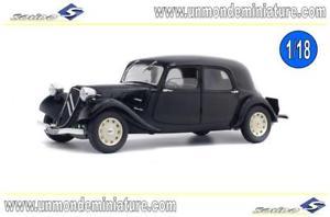 【送料無料】模型車 モデルカー スポーツカー シトロエントションエシェルcitron traction 11 cv 1937 noire solido so 1800903 echelle 118