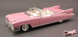 【送料無料】模型車 モデルカー スポーツカー キャデラックエルドラドビアリッツピンクcadillac eldorado biarritz 1959 pink 118 maisto mi36813pk