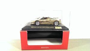 【送料無料】模型車 モデルカー スポーツカー ネットワークフェラーリエンツォゴールドエディションixo ferrari enzo gold edition *vi50821