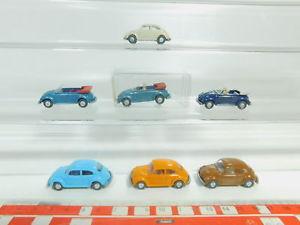 【送料無料】模型車 モデルカー スポーツカー #フォルクスワーゲンビートルカブリオレボbo5920,5 7x wiking h0187 pkw vw kfer 10 033 cabriolet etc, neuw1x ovp