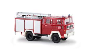 【送料無料】模型車 モデルカー スポーツカー ソリンゲンホbrekina 58801 magirus tlf 16 berufsfeuerwehr solingen ho 187 neu