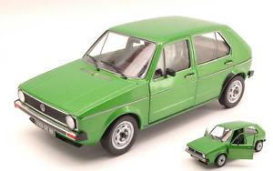 【送料無料】模型車 モデルカー スポーツカー ワゴンフォルクスワーゲンゴルフメタリックグリーンモデルvolswagen vw golf 1 1976 metallic green 118 model 1800203 solido