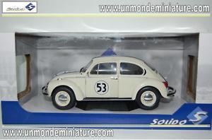 【送料無料】模型車 モデルカー スポーツカー フォルクスワーゲンビートルレーサーエシェルvolkswagen beetle 1303 racer 53 solido so 1800505 echelle 118