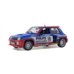 【送料無料】模型車 モデルカー スポーツカー ソロルノーターボsolido soli1801301 renault r5 turbo groupe b 1984 118