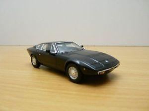 【送料無料】模型車 モデルカー スポーツカー マセラティマセラティノワールmaserati khamsin noir 1972 143