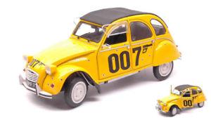 【送料無料】模型車 モデルカー スポーツカー シトロエンジェームズボンドモデルcitroen 2cv james bond 007 for your eyes only 1981 118 model solido