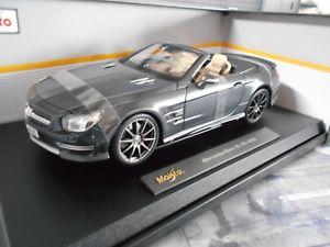 【送料無料】模型車 モデルカー スポーツカー メルセデスベンツチューニングロードスタークーペmercedes benz sl amg sl65 tuning roadster coupe 2015 45 anniver w193 maisto 118
