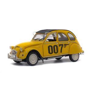 【送料無料】模型車 モデルカー スポーツカー ソロシトロエンジェームズボンドsolido soli1850012 citroen 2cv 6 007 james bond 1981 118