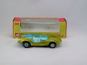 【送料無料】模型車 モデルカー スポーツカー コーギーホイールアダムスブラザーズサンプルミントcorgi toys whizzwheels 384 adams bros probe 16 near mintboite dka