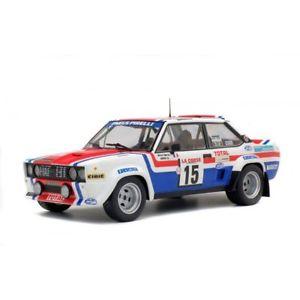 【送料無料】模型車 モデルカー スポーツカー ソロフィアットツールドコルスムートンsolido soli1800807 fiat 131 tour de corse 1979 m mouton 118