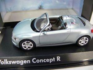 【送料無料】模型車 モデルカー スポーツカー コンセプトシルバー143 norev vw concept r silber
