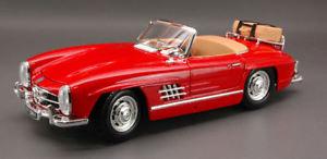 【送料無料】模型車 モデルカー スポーツカー メルセデスツーリングモデルmercedes 300 sl touring 1957 red 118 model 12049r bburago