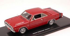 【送料無料】模型車 モデルカー スポーツカー ダッジダートチャージャーレッドモデルハイウェイdodge dart gts 1968 charger red 143 model 43001 highway 61