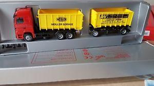 【送料無料】模型車 モデルカー スポーツカー herpa actrosandreas wittlermeiller service abrollcontainer hzg49811 lingen