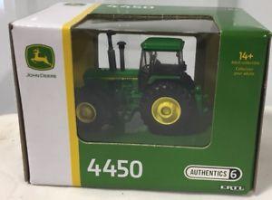 【送料無料】模型車 モデルカー スポーツカー ジョンディアトター#ertl john deere 4450 tractor wmfwd authentics 6 164 nib
