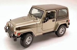 【送料無料】模型車 モデルカー スポーツカー ジープラングラーサハラメタリックカーキモデルjeep wrangler sahara 2006 metallic khaki 118 model 12014c bburago