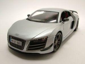 【送料無料】模型車 モデルカー スポーツカー アウディモデルカーaudi r8 gt silber, modellauto 118 maisto