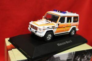 【送料無料】模型車 モデルカー スポーツカー メルセデスベンツクラスアトラスミントmercedes benz g klasse notarzt atlas ambulance 143 mint boxed