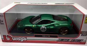 【送料無料】模型車 モデルカー スポーツカー フェラーリ#15676101 bburago 118 ferrari 488 gtb 25 the green jewel limited edition