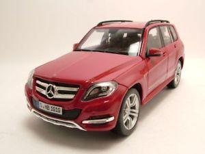 【送料無料】模型車 モデルカー スポーツカー メルセデス×モデルカーmercedes glk x204 2012 rot, modellauto 118 maisto