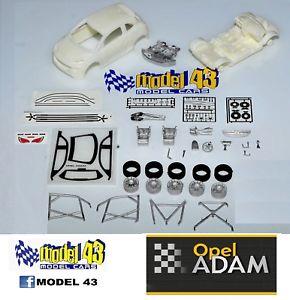 【送料無料】模型車 モデルカー スポーツカー オペルアダムキットopel adam   kit montaggio