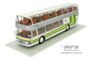 【送料無料】模型車 モデルカー スポーツカー スカイライナーバスネットワークバスneoplan nh 22l skyliner bus 1983 wei grn gelb 143 ixo bus 006