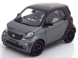 【送料無料】模型車 モデルカー スポーツカー スマートフォーツークーペマットグレーブラック