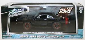 【送料無料】模型車 モデルカー スポーツカー ライトスケールロードgreenlight 143 scale 86232 fast amp; furious doms 1970 dodge charger rt road