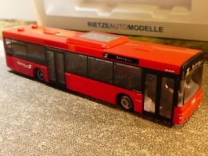 【送料無料】模型車 モデルカー スポーツカー バスオーストリア187 rietze man nl bb bahn bus sterreich 65416